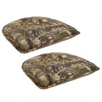 Forest Trees Non-Slip Chair Pads, Set of 2