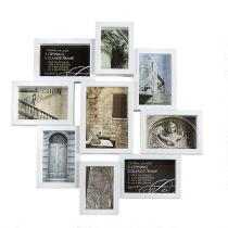 9-Opening Staggered Photo Frames Wall Collage