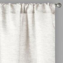 "84"" Bombay™ Textured Rod Pocket Window Curtains, Set of 2"