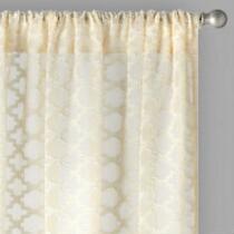 """84"""" Layla Bombay™ Rod Pocket Window Curtains, Set of 2"""