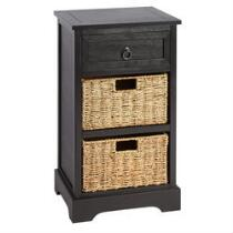 Hannah 2-Basket/1-Drawer Storage Cabinet