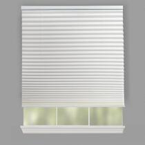 "72"" Pleated Cordless Window Shade"
