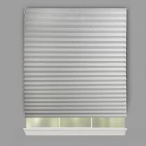 Gray Peel-and-Stick Room-Darkening Window Shades, 4-Pack