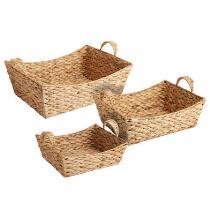 Water Hyacinth Boat Basket