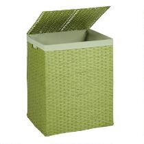 Woven Hamper with Matching Liner