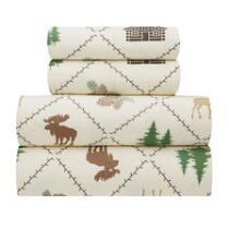 Moose Lodge Microfiber Sheet Set