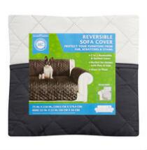 AKC Quilted Reversible Sofa Furniture Cover