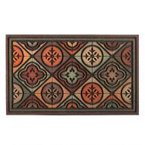 Tiles and Shapes Door Mat