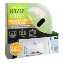 As Seen on TV Hover Cover™ Magnetic Microwave Splatter Guard