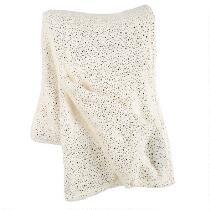 Metallic Dots Plush Throw Blanket