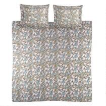 Sunbeam® Paisley Print Flannel Duvet Set