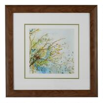 "22"" Tree Branches Framed Wall Art"