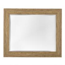 """16""""x20"""" Gail Faux Wood Frame Wall Mirror"""
