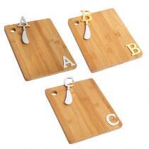 Monogram Cheeseboard with Knife Set