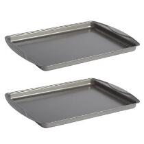 "T-Fal™ 12""x16"" Nonstick Cookie Sheets, Set of 2"
