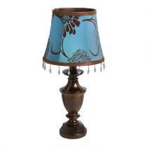 "16"" Blue Imperial Accent Lamp"