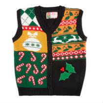 Candy Canes Ugly Christmas Sweater Vest