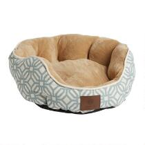 American Kennel Club™ Oval Geometric Pet Bed
