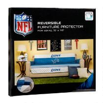 NFL Detroit Lions Reversible Sofa Cover