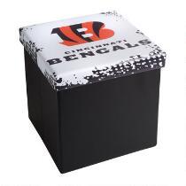 NFL Cincinnati Bengals Storage Ottoman