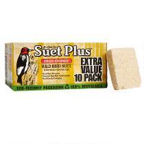 Suet Plus® High Energy Wild Bird Suet, 10-Pack