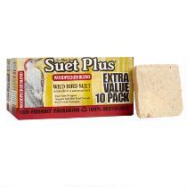 Suet Plus® Woodpecker Blend Wild Bird Suet, 10-Pack