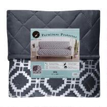Diamond Pattern Reversible Sofa Furniture Cover