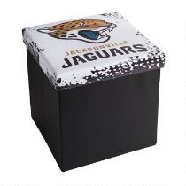 NFL Jacksonville Jaguars Storage Ottoman