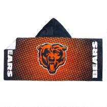 NFL Chicago Bears Cotton Hoody Towel