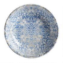The Grainhouse™ Blue Damask Melamine Serving Bowl