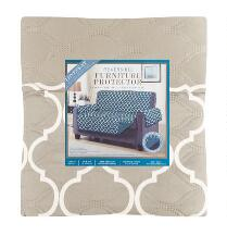 Moroccan One-Piece Reversible Loveseat Furniture Cover