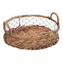The Grainhouse™ Round Woven Wire Tray