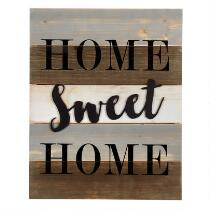 "The Grainhouse™ 16""x20"" ""Home Sweet Home"" Cutout Wood Wall Sign"