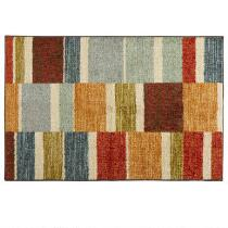 """Mohawk Home 30""""x46""""  Multicolored Rectangles Accent Rug"""