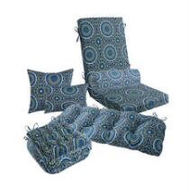 Blue Medallion Indoor/Outdoor Cushions Collection