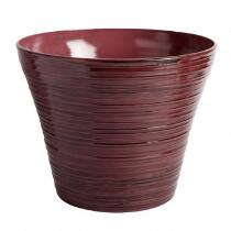 Glazed Finish Spun Planter Pot