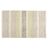 """The Grainhouse™ 27""""x45"""" Patterned Stripes Woven Accent Rug"""