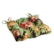 Tropical Flowers Indoor/Outdoor Single-U Seat Pad