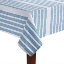 The Grainhouse™ Striped Cotton Tablecloth