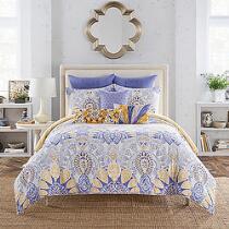 Anthology® Lyla Blue Floral Paisley Reversible Comforter Set