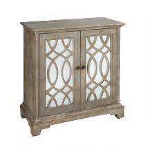 The Grainhouse™ 2-Door Decorative Mirrored Cabinet