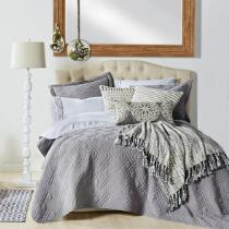 The Grainhouse™ Solid Textured Quilt Mini Set