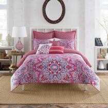 Anthology® Kaya Floral Medallions Reversible Comforter Set