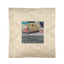 Dog Pattern Loveseat Furniture Cover