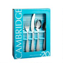 Cambridge® Remi Stainless Steel Flatware Set, 20-Piece