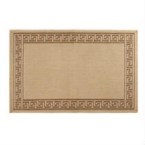Greek Key Border All-Weather Area Rug