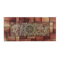 Brick and Pebble Oversized Rubber Door Mat