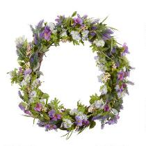 The Grainhouse™ Lavender Greenery Wreath