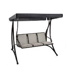 Regina 3-Seat Cushioned Outdoor Swing