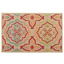 Multicolor Floral All-Weather Area Rug